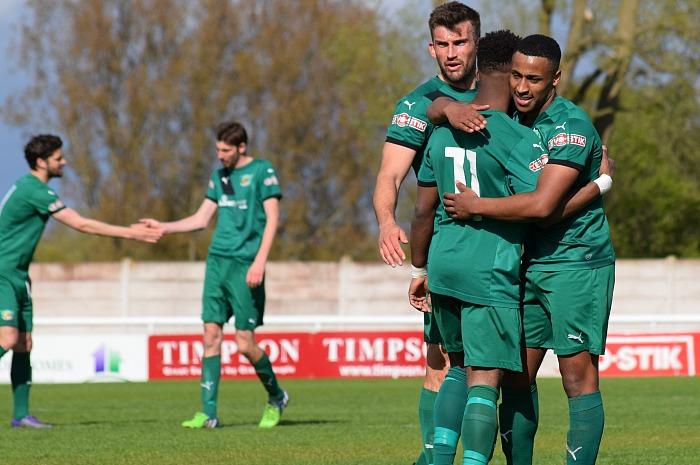 3rd goal - Osebi Abadaki celebrates his goal