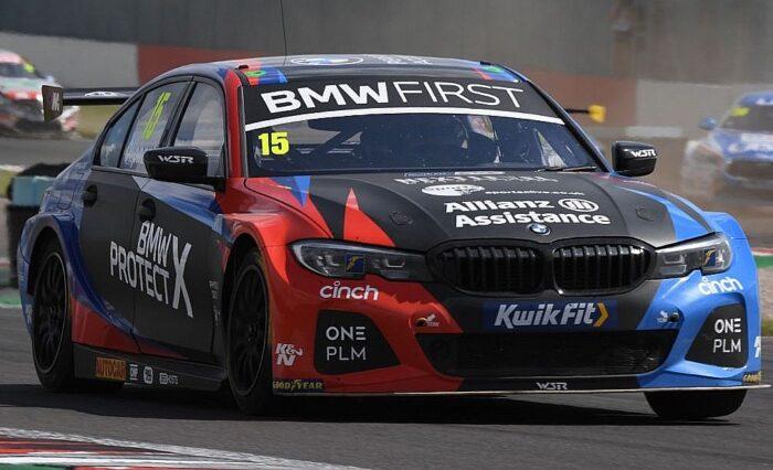 Tom Oliphant BMW podium finish Donington Park