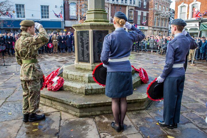 Armistice centenary in Nantwich 7