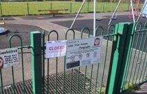 Queens Park closed