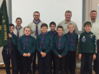 Millfields Cubs and Beavers launches new Scout troop for Nantwich
