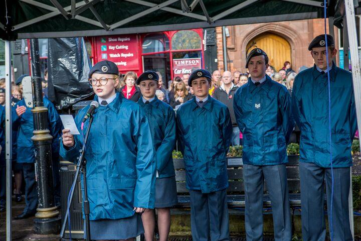Armistice centenary in Nantwich 2