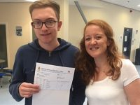 Malbank Sixth Form in Nantwich celebrates top A level results