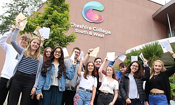 A Level results - cheshire college