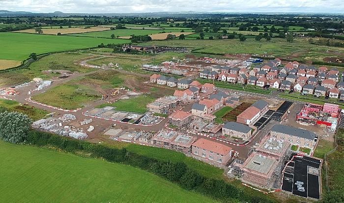 green belt - kingsbourne housing in nantwich