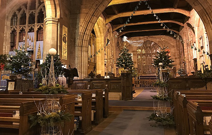 A section of the Christmas Tree Festival (2)