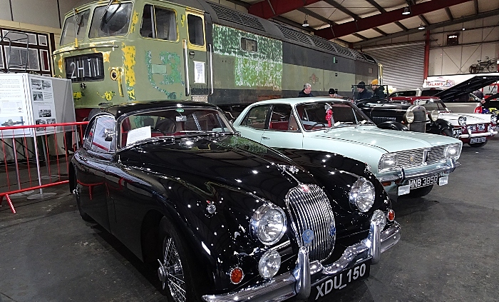 A selection of vehicles on display in the Exhibition Hall (2) (1)