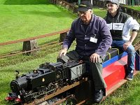 South Cheshire Model Engineering Society stage Macmillan fundraiser