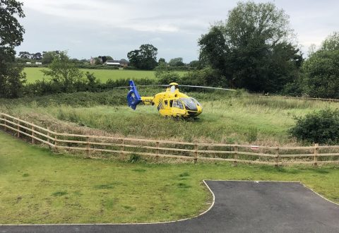 Man injured in building site plunge in Nantwich