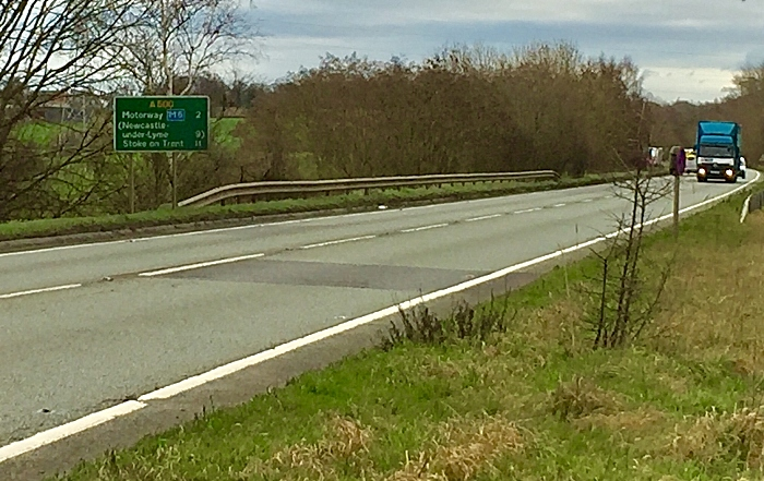 A500 between M6 and Meremoor Moss roundabout - dual scheme