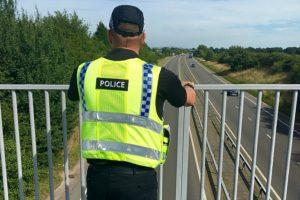 Nantwich mum tells of A500 bridge 'stones' horror