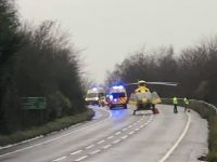 Man left critical as police appeal over A51 Nantwich bypass crash