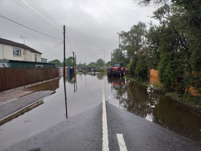 A51 calveley - pic by CEC Highways