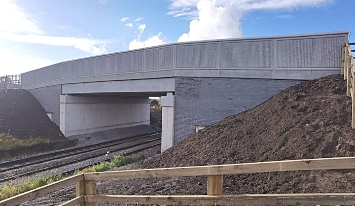 A530 road bridge over railway