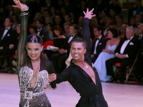 AJ and Chloe in action, UK Championships 2014