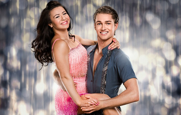 aj pritchard and-claudia-strictly-bbc