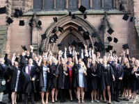 Reaseheath College graduates celebrate at Nantwich ceremony
