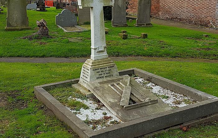 AN Hornby grave