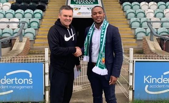 Aaron Burns - Nantwich Town signing