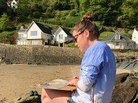 Nantwich finance firm Watts backs local artist