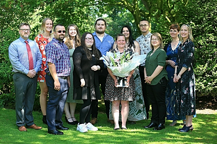 Access to Higher Education students with course manager Louise Glenn (1)