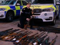 Cheshire Police stage illegal firearms amnesty