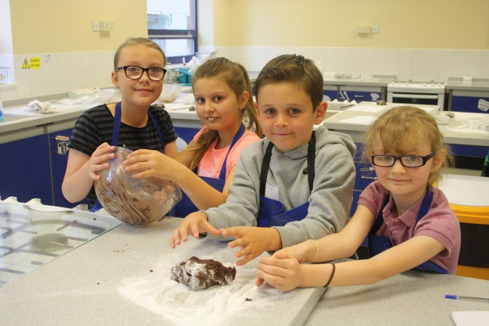 Activity Day chocolate making