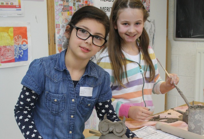 Activity Day clay sculpture