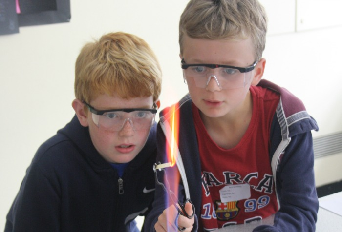 Activity Day, science experiments