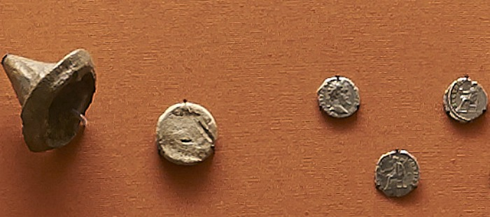 Acton Roman Coin Hoard. (c) Trustees of the British Museum