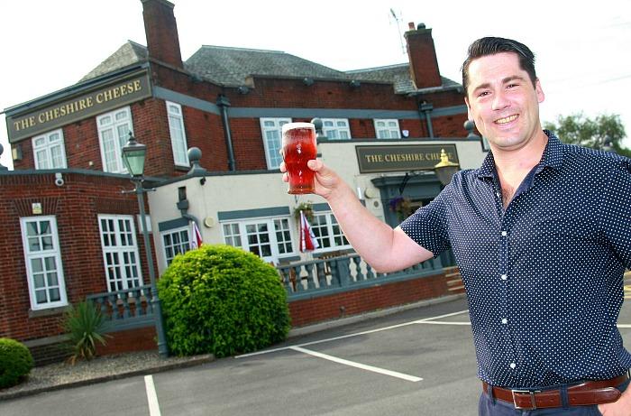 Adam Scally, chef, Cheshire Cheese pub in Shavington