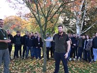 Forestry students at Reaseheath College gain top industry talk