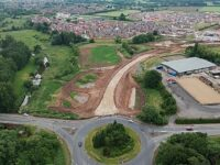 PICTURE SPECIAL: Work on new spine road and A51 bypass in Nantwich
