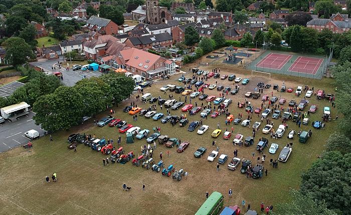 Audlem Festival of transport - aerial shot by Jonathan White