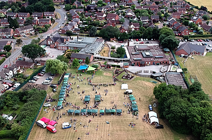 Aerial view of Fete and surrounding land (1)