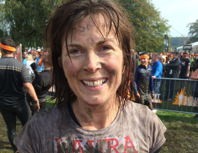 After Tough Mudder - Laura Atkinson