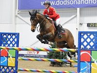Young Nantwich rider Madison Heath tops equestrian qualifier