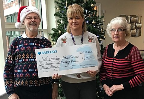South Cheshire care home resident in Leighton Hospital fundraiser