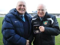 Nantwich Town stalwart Albert Pye honoured for 50 years service