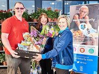 Nantwich charities and groups team up with Aldi for donations