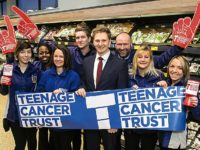 Nantwich Aldi staff and customers raise £6,000 for Teenage Cancer Trust