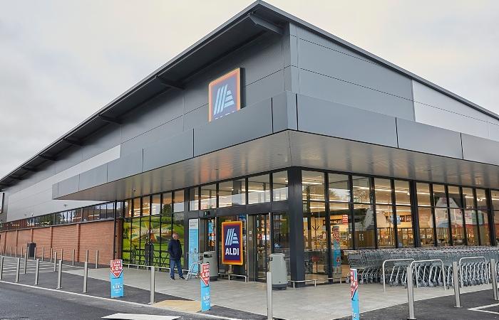 Aldi store reopens nantwich 2021