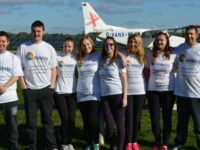 Alextra accountants boost Leighton Hospital MRI appeal with skydive
