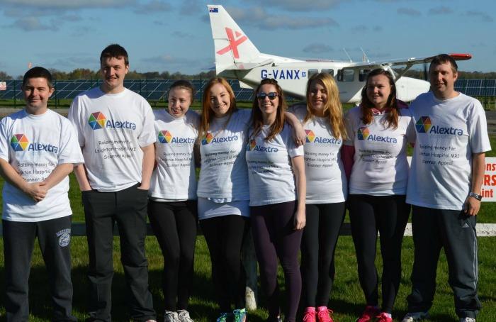 Alextra Accountants Skydive Team
