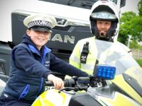 Young truck fan from Shavington helps Cheshire Police operation