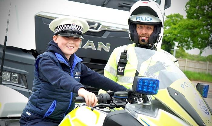 Alfie - police truck operation