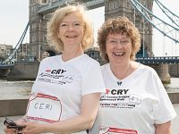 Bereaved Nantwich mum takes part in CRY Heart of London Bridges Walk