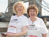 Bereaved Nantwich mum takes part in CRY Heart of London Bridges Walk