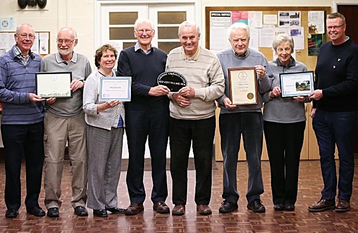 All the award winners - Wistaston in Bloom
