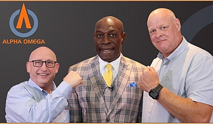 kickboxing - Alpha Omega Ken Lawton, Frank Bruno, Pete Shufflebotham